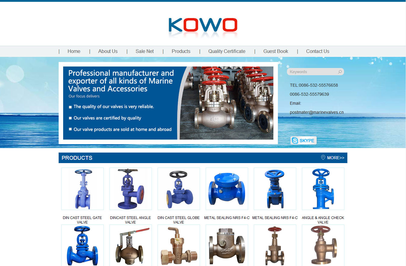 The QINGDAO KOWO VALVES Co.,Ltd.